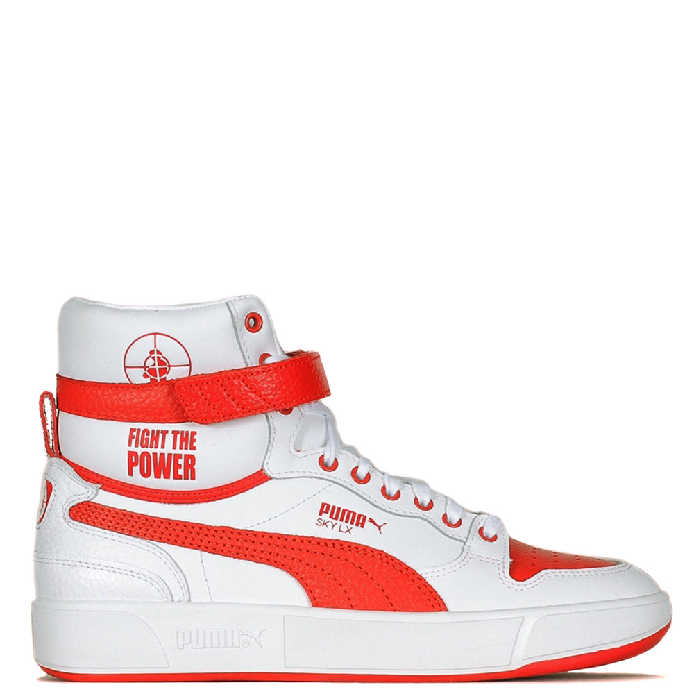 Puma Cream x Public Enemy Sky LX / Puma White