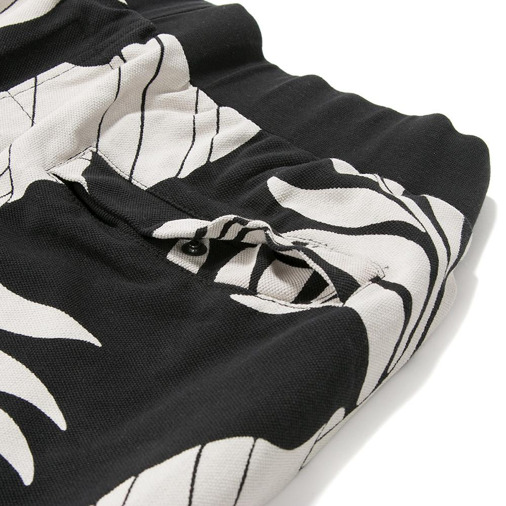 BY PARRA POTS & PLANTS PIQUE SHORTS / BLACK