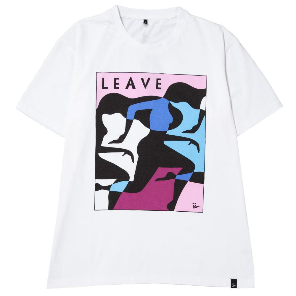 style code 38090FW17. BY PARRA LEAVE T-SHIRT / WHITE