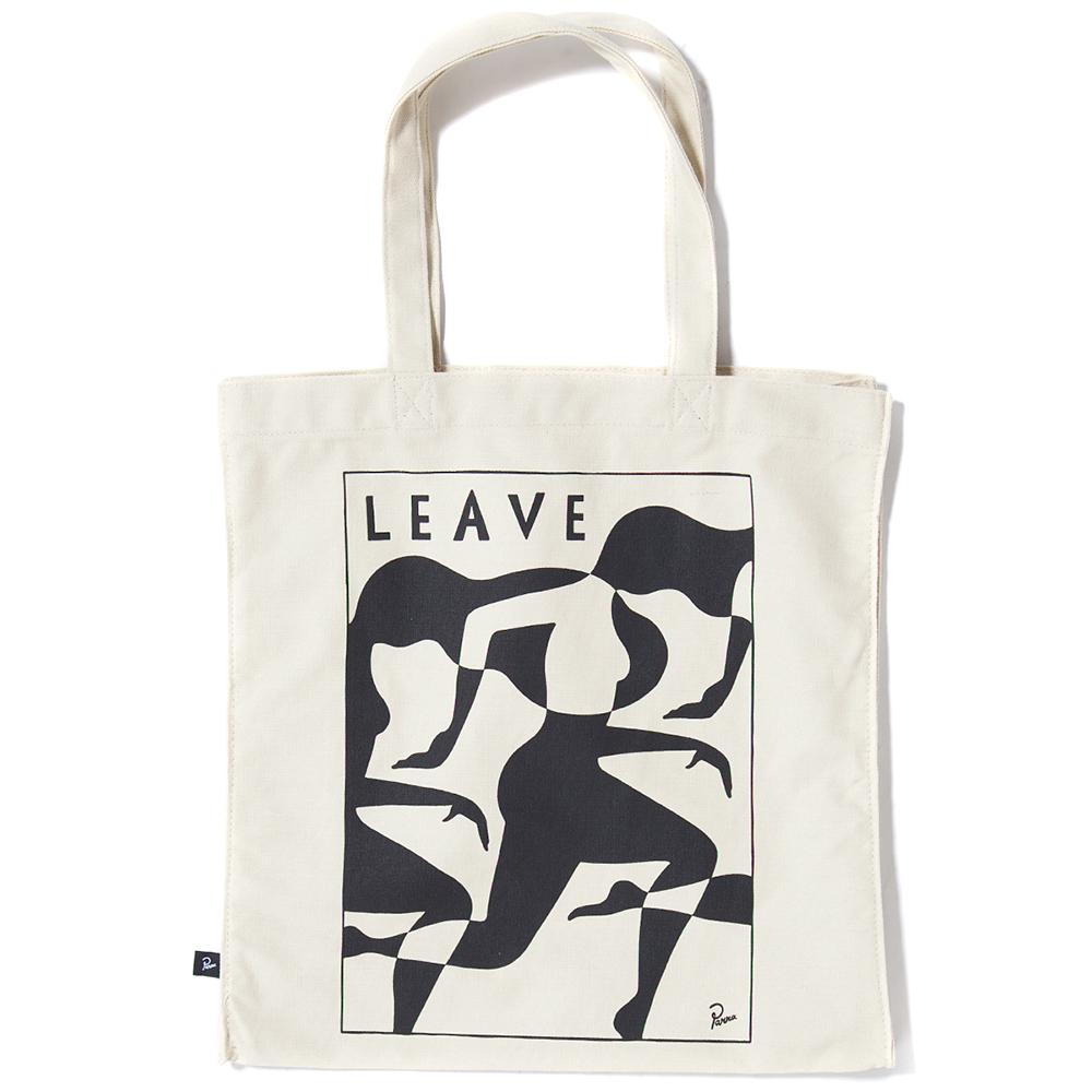 style code 38100FW17. BY PARRA LEAVE TOTE BAG / UNDYED NATURAL