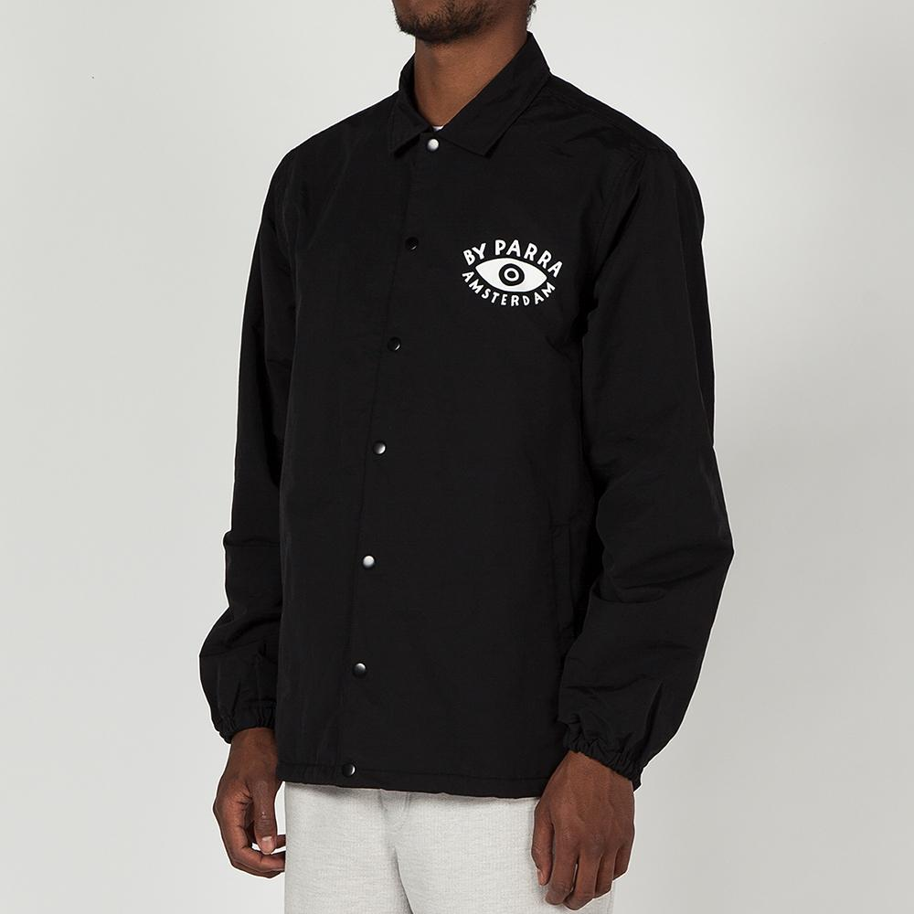 BY PARRA TWISTED COACH JACKET / BLACK