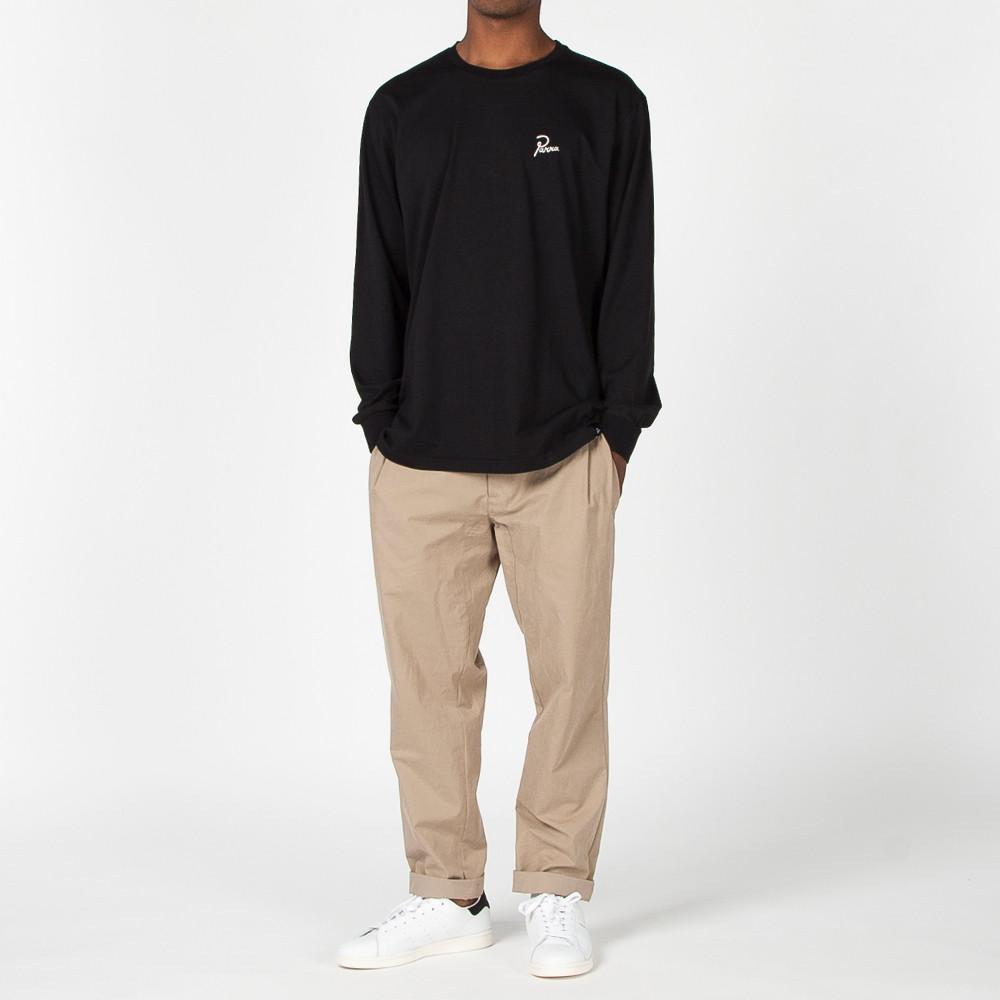 BY PARRA FLAME HOLDER LONG SLEEVE T-SHIRT / BLACK