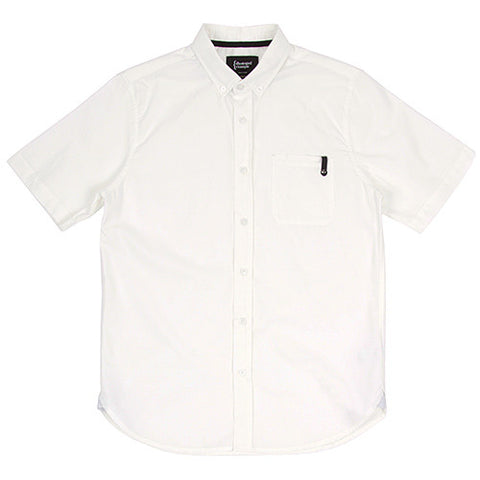{ie DUNGAREE CLOTH SHORT SLEEVE SHIRT / WHITE - 1