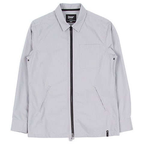 {ie ZIP OVERSHIRT / ALLOY - 1