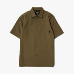 {ie SS SEERSUCKER SHIRT / CANTEEN - Deadstock.ca