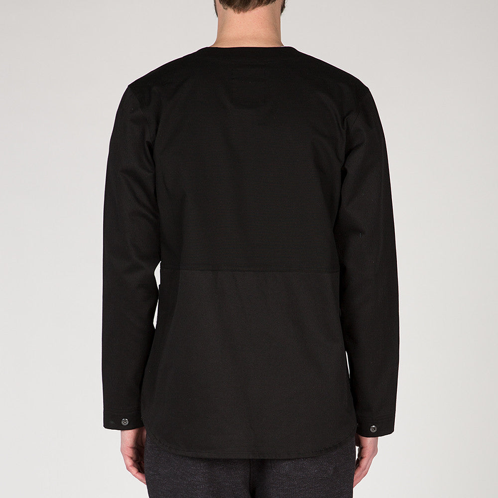 {ie OUTBACK OVERSHIRT / BLACK