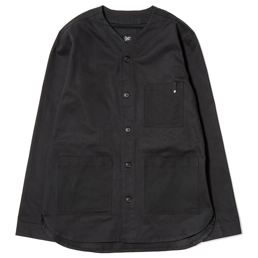 {ie OUTBACK OVERSHIRT / BLACK - 1