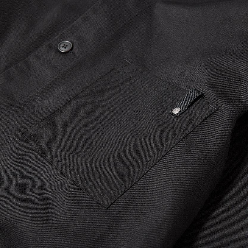 {ie OUTBACK OVERSHIRT / BLACK - 4