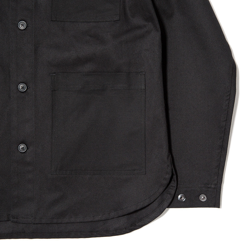 {ie OUTBACK OVERSHIRT / BLACK - 5