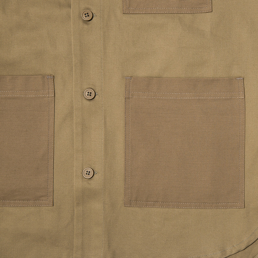 {ie OUTBACK OVERSHIRT / KHAKI - 5