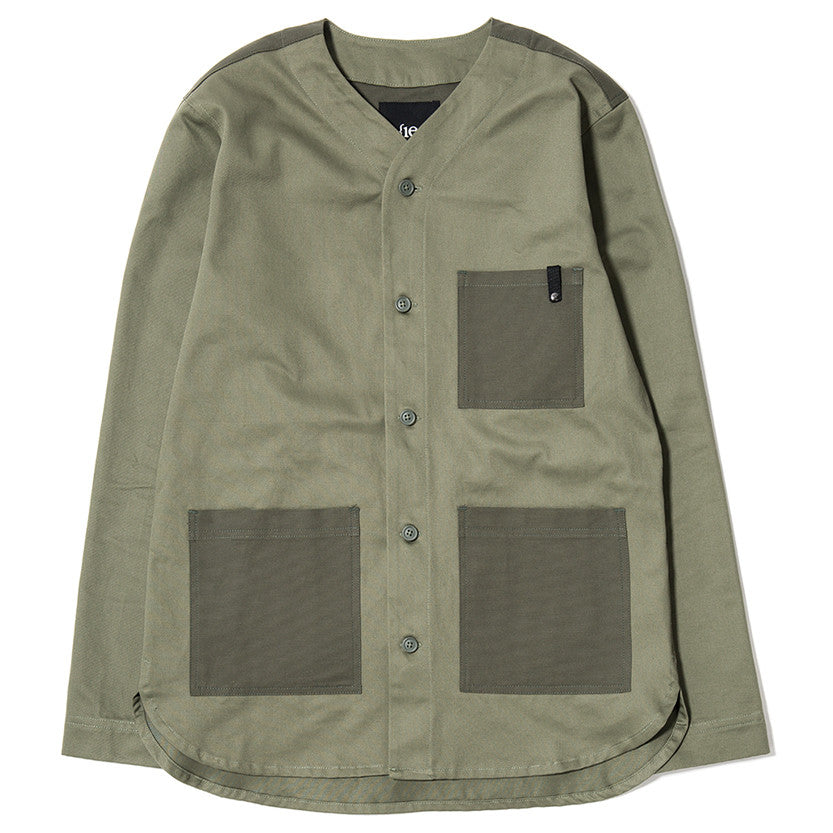 {ie OUTBACK OVERSHIRT / MOSS - 1