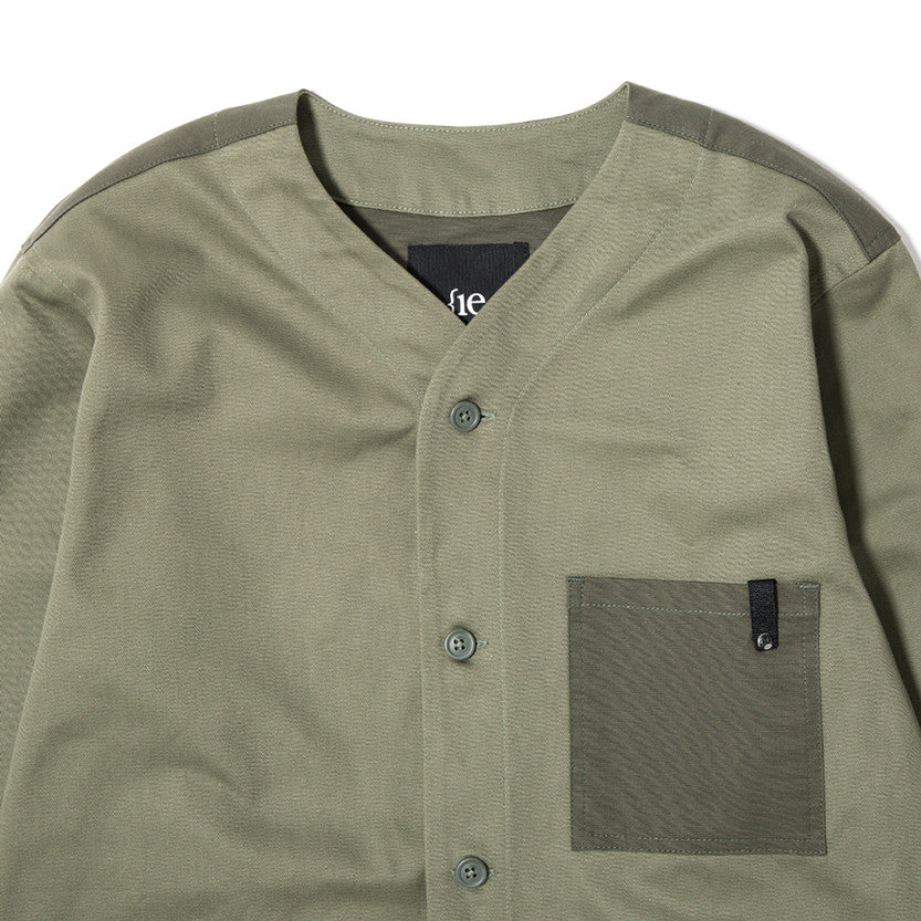 {ie OUTBACK OVERSHIRT / MOSS - 3
