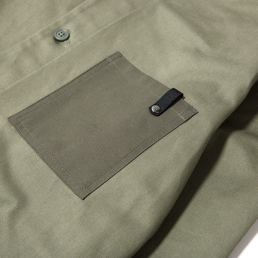 {ie OUTBACK OVERSHIRT / MOSS - 4