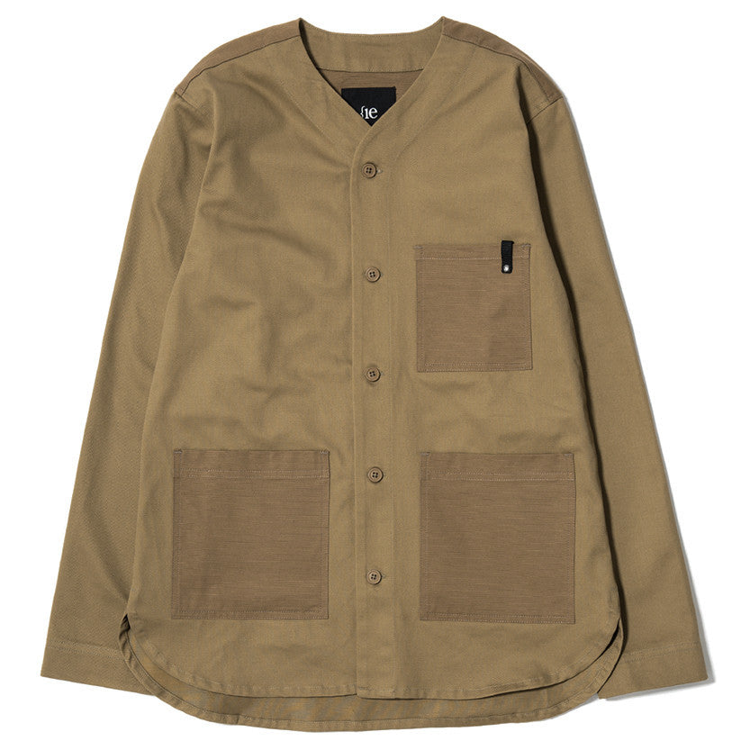 {ie OUTBACK OVERSHIRT / KHAKI - 1