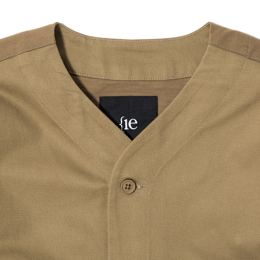 {ie OUTBACK OVERSHIRT / KHAKI - 3