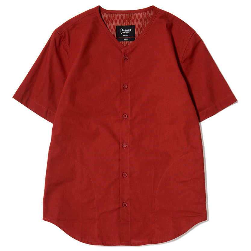 {ie SOUVENIR SHIRT / RED - 1