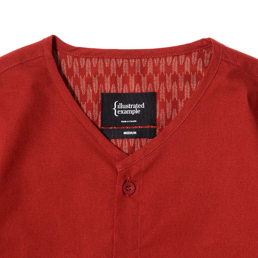 {ie SOUVENIR SHIRT / RED - 3
