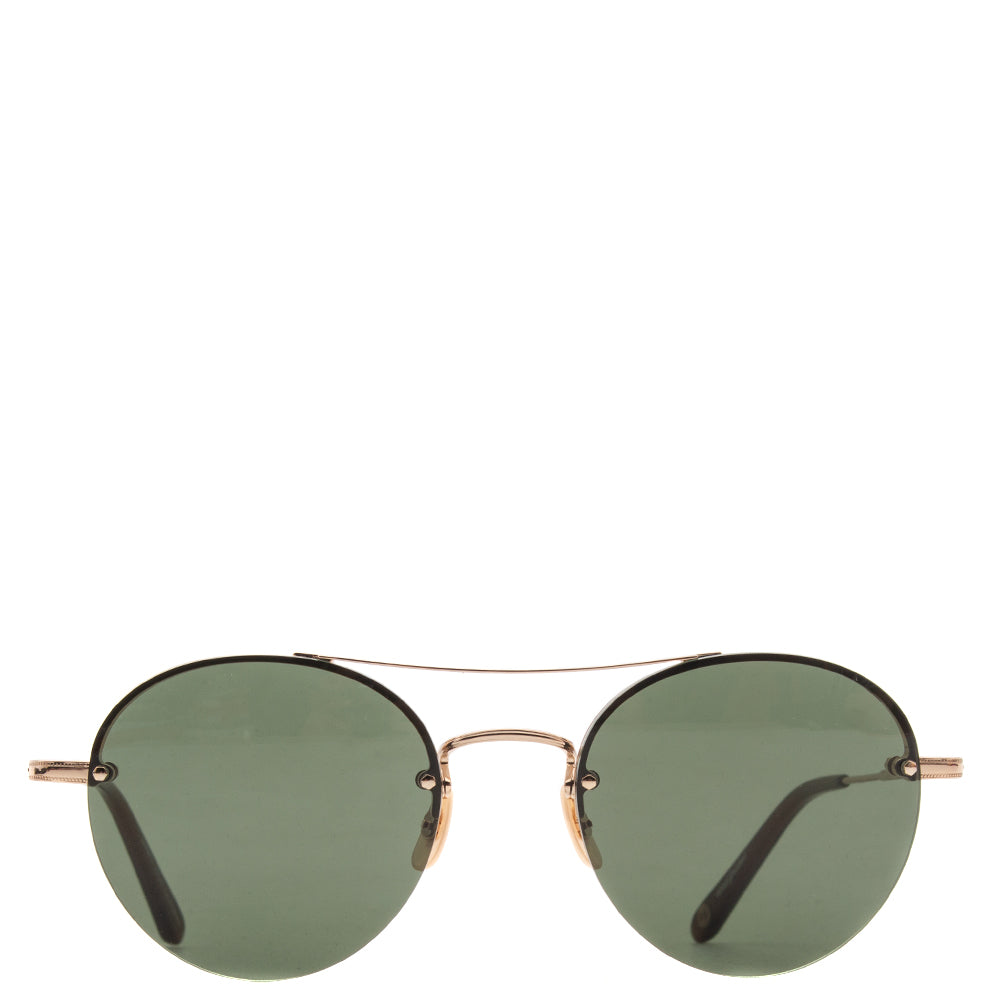 Style code 404153GLD. Garrett Leight Beaumont / Gold - Hazel With G15