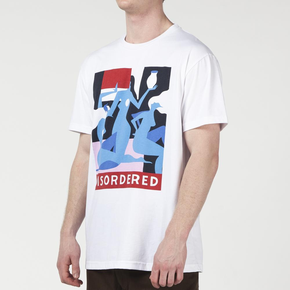 BY PARRA DISORDERED T-SHIRT / WHITE