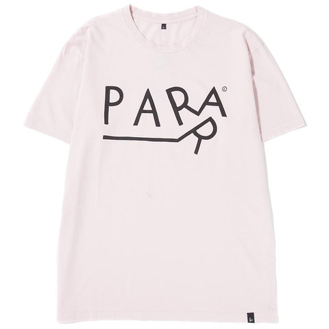 Style code 40730S18. BY PARRA DRAGGING T-SHIRT / STONEWASHED PINK
