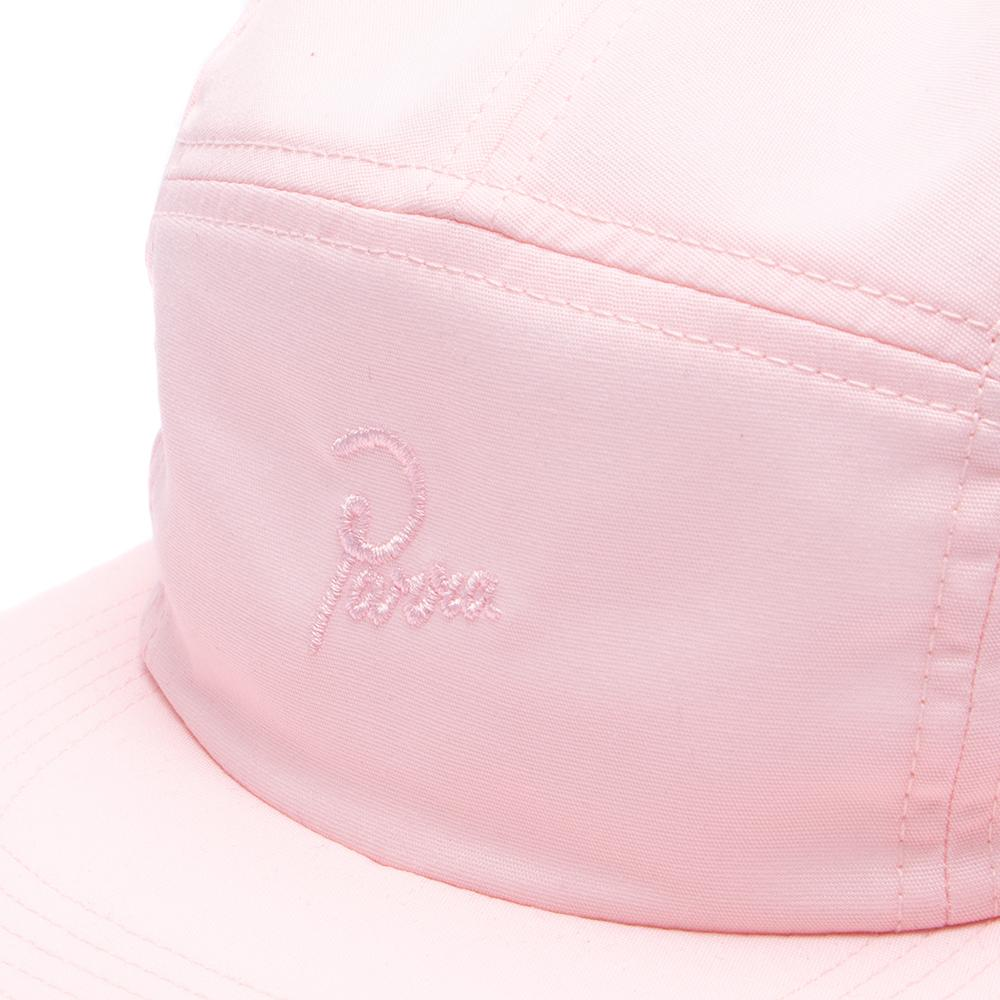 Style code 41040S18. by Parra Signature 5 Panel Volley Hat / Pink