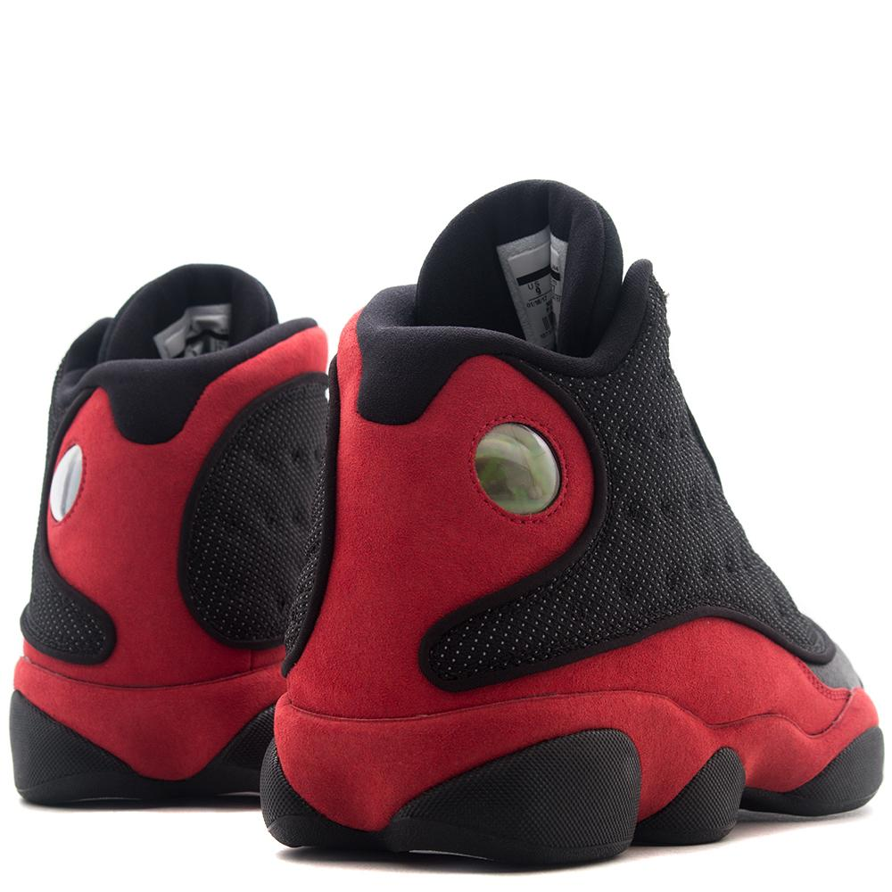 style code 414571-004. JORDAN 13 RETRO PLAYOFFS BLACK / TRUE RED