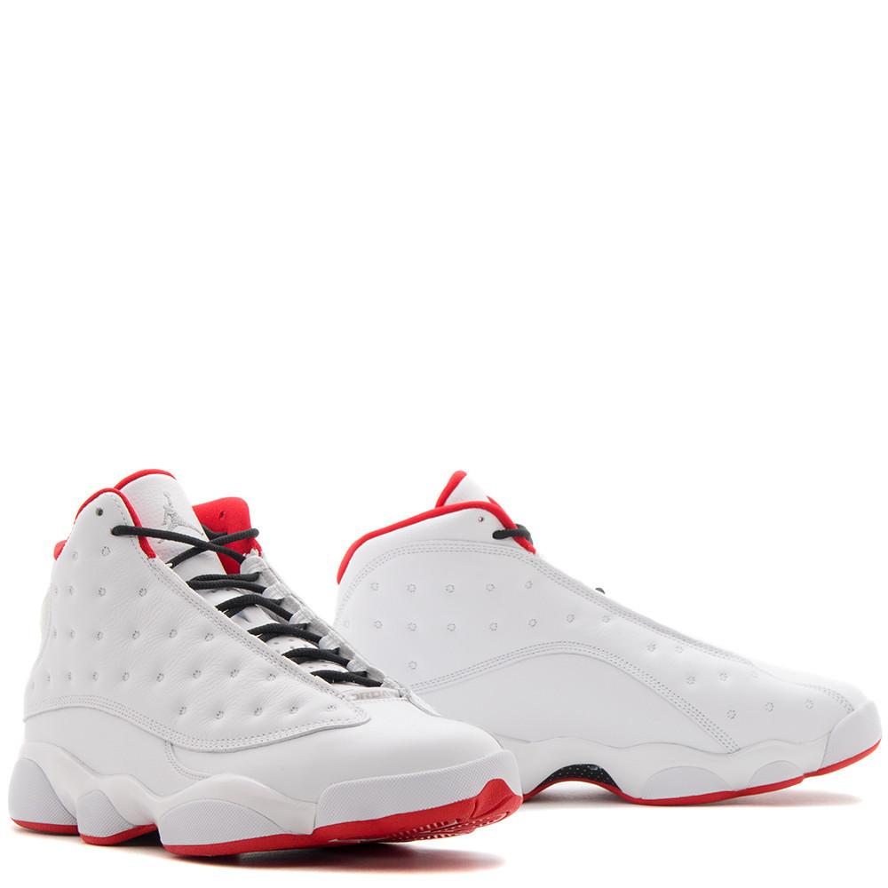JORDAN 13 RETRO HISTORY OF FLIGHT / WHITE
