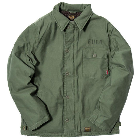 FUCT SSDD DECK JACKET / OLIVE - 1
