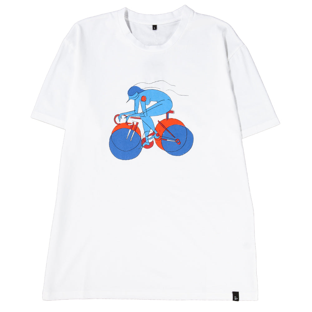 Style code 41650FW18. by Parra Break Away Girl T-shirt / White