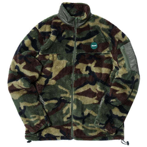 FUCT SSDD ZIP UP FLEECE JACKET / CAMO - 1