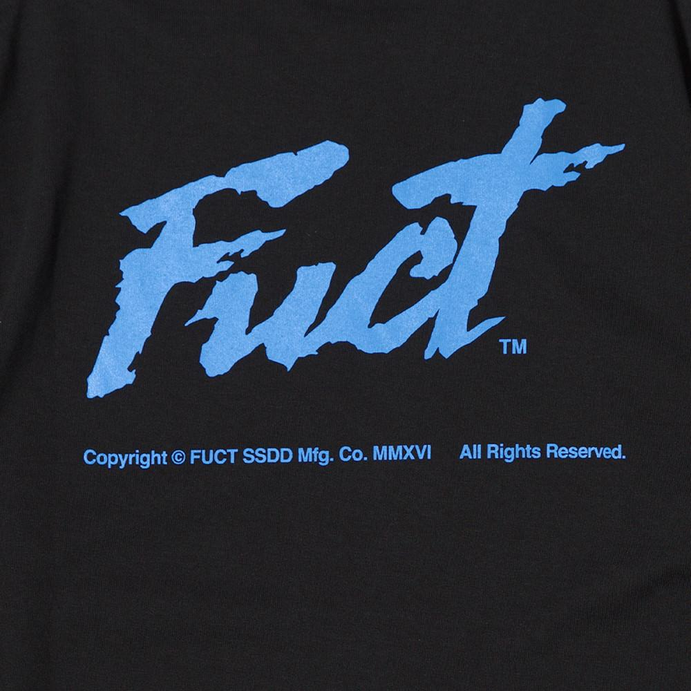 FUCT SSDD THIEF LONG SLEEVE T-SHIRT / BLACK . style code 41705BLK