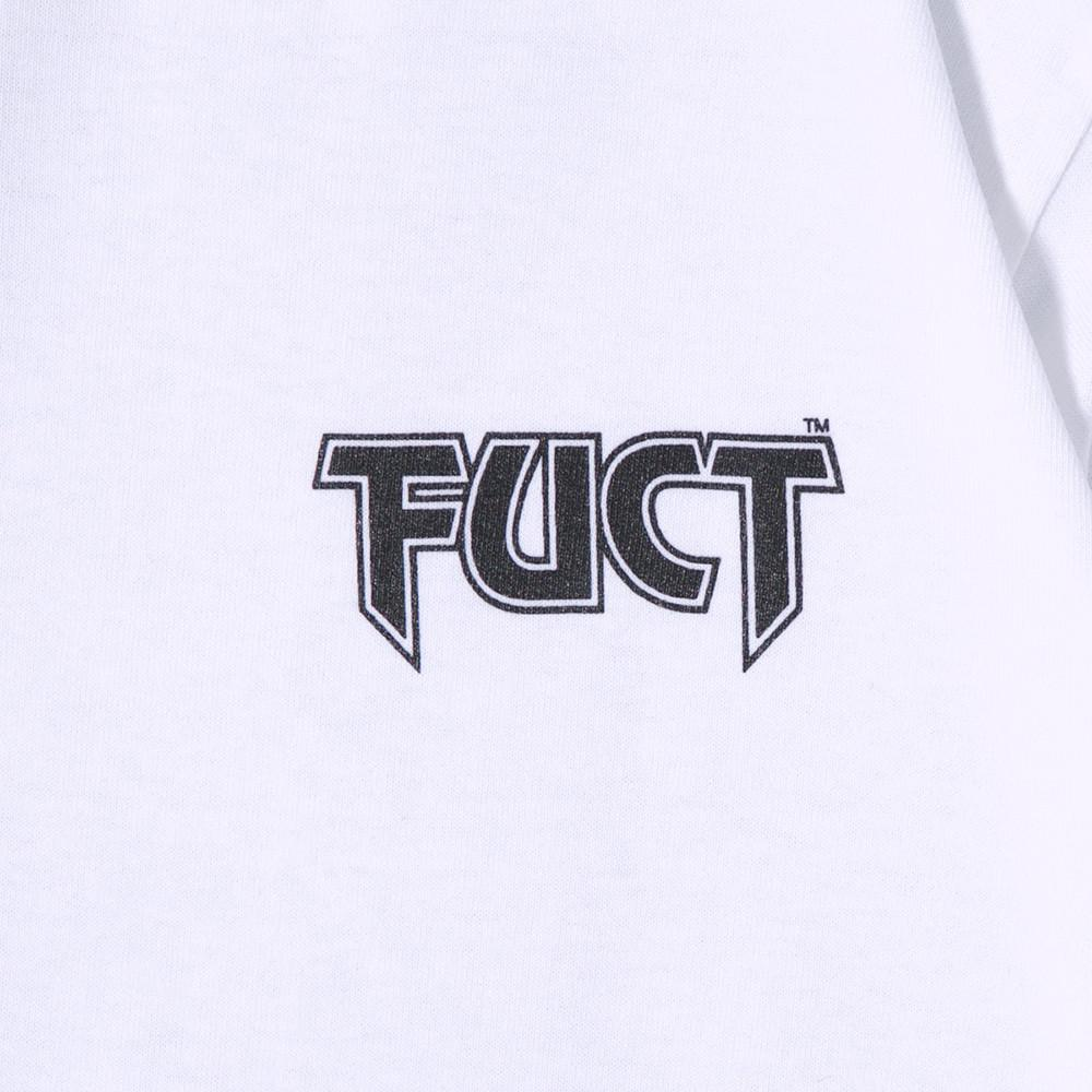 FUCT SSDD IT CAN'T HAPPEN LONG SLEEVE T-SHIRT / WHITE - 2