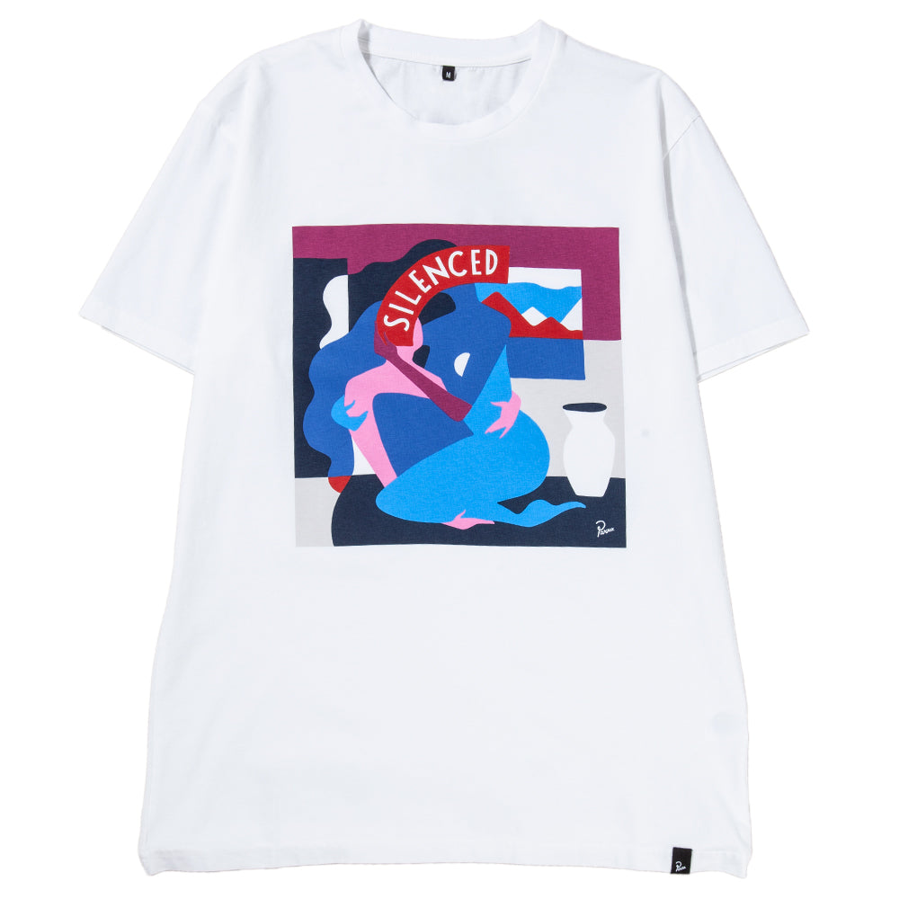 Style code 41850FW18. by Parra Mich Cover T-shirt / White