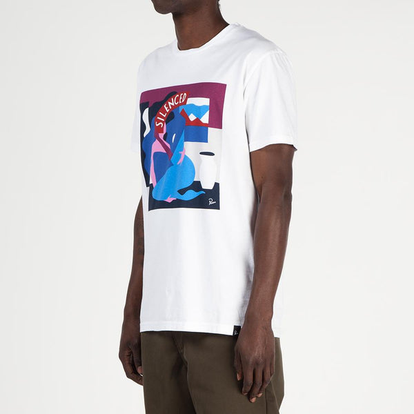 by Parra Mich Cover T-shirt / White