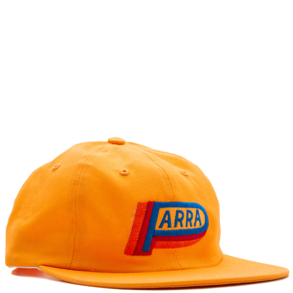 6a517a1aa48 42330S19 by Parra Garage Oil 6 Panel Hat   Gold Yellow