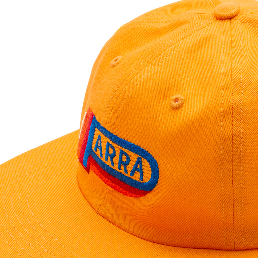 42330S19 by Parra Garage Oil 6 Panel Hat / Gold Yellow