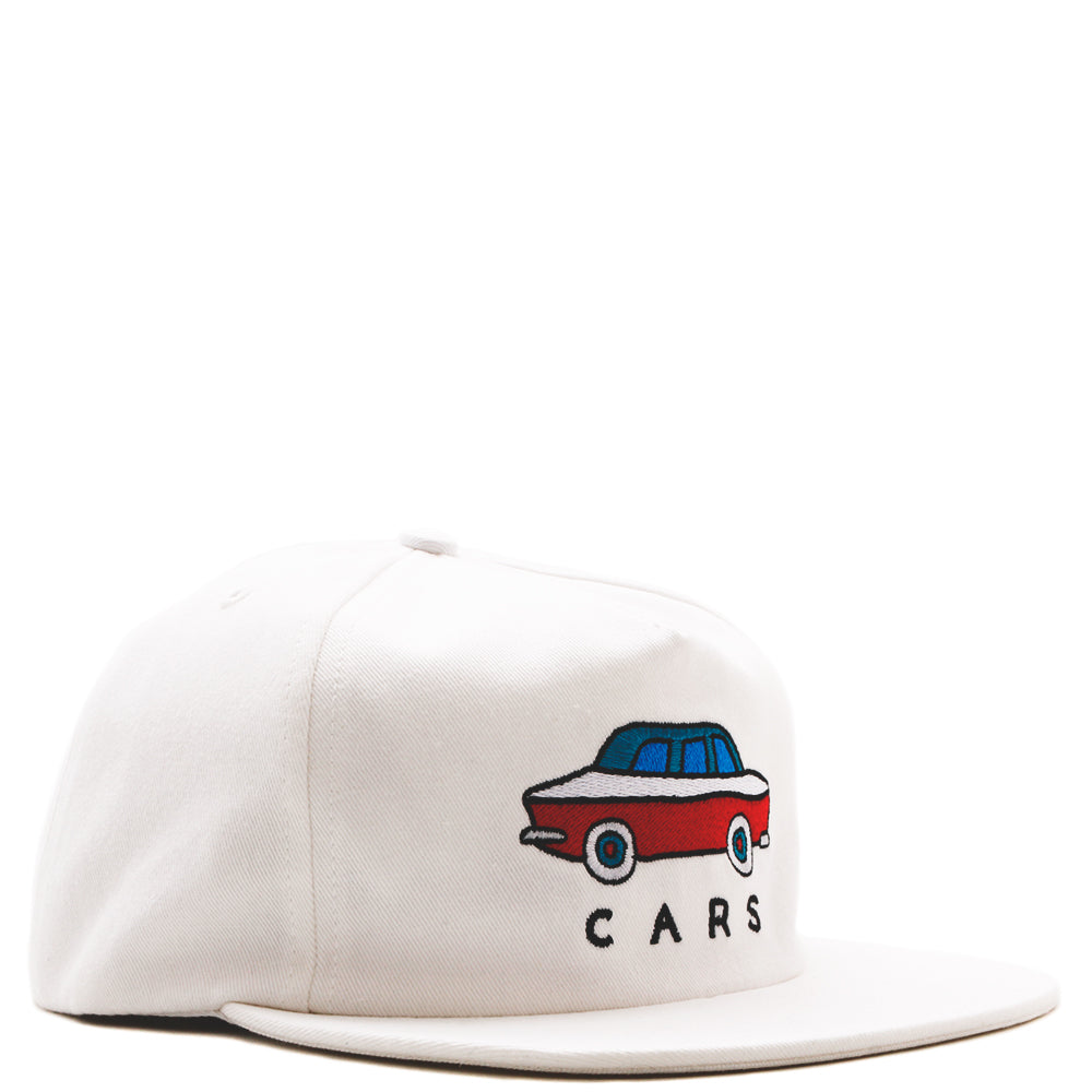 2981584ac28 42470S19 by Parra Gary 5 Panel Hat   White