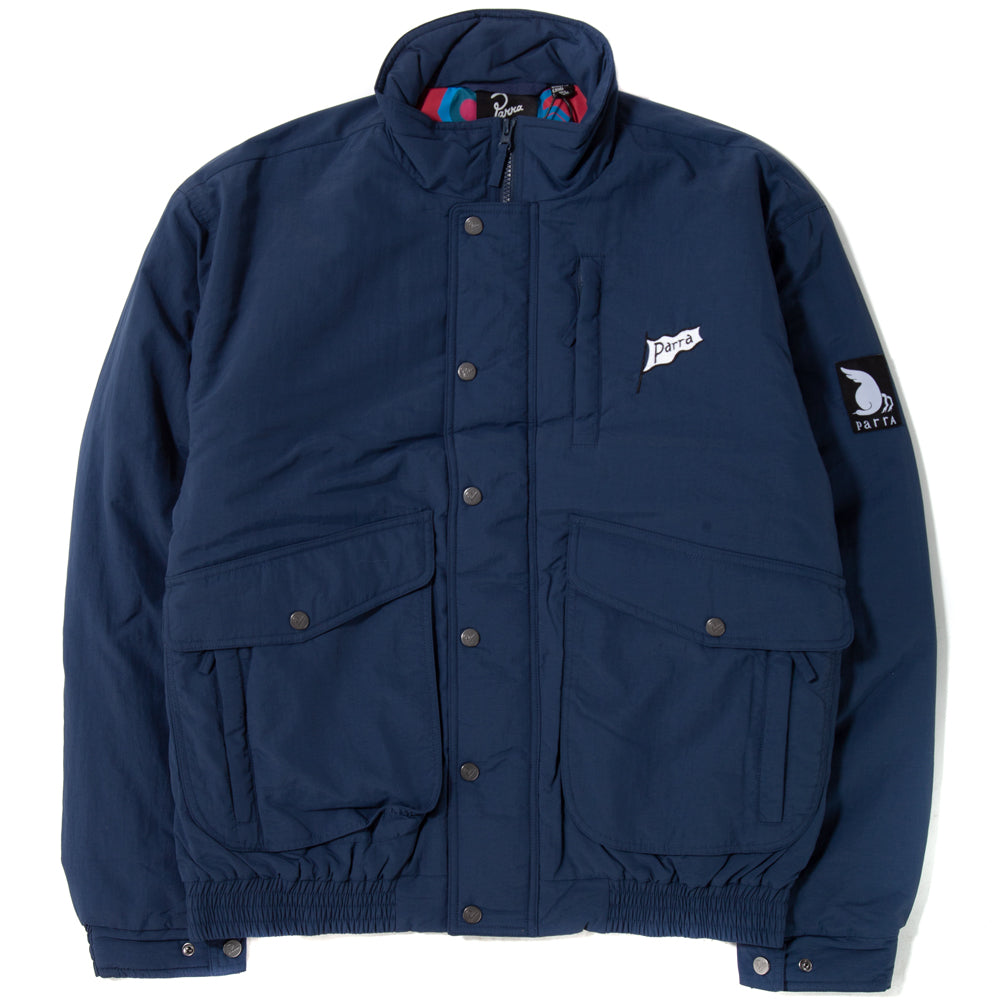 by Parra 1993 Nylon Jacket / Navy Blue - Deadstock.ca
