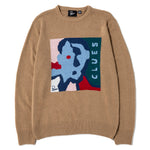 By Parra Clues Knitted Sweater / Camel