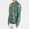 by Parra Bird Camo Button Up Shirt / Camo Green