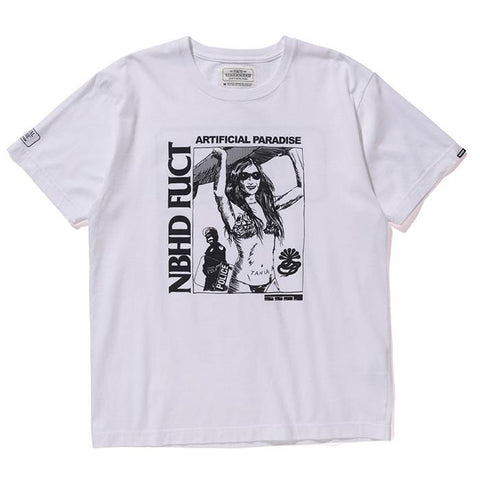 FUCT SSDD X NEIGHBORHOOD NHFU 2 T-SHIRT SS / WHITE - 1