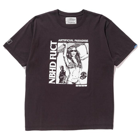 FUCT SSDD X NEIGHBORHOOD NHFU 2 T-SHIRT SS / BLACK - 1