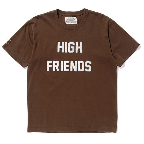 FUCT SSDD X NEIGHBORHOOD NHFU 6 T-SHIRT SS / OLIVE DRAB - 1