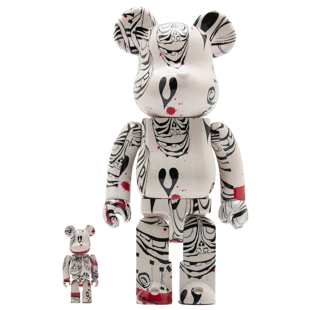 Medicom Toy x Phil Frost BE@RBRICK 100% & 400% 2019 Version