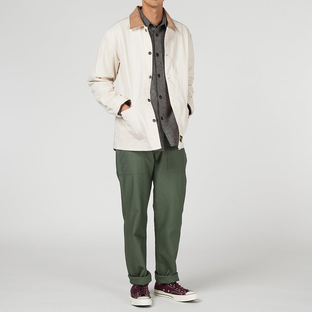 STAN RAY ARCHIVE 2 POCKET WORK JACKET / NATURAL DRILL