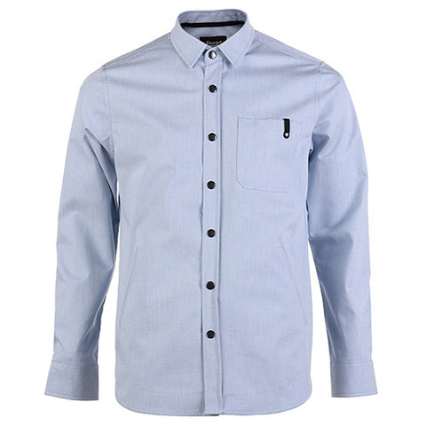 {ie SHIRT JACKET LIGHT BLUE / GREY - 1