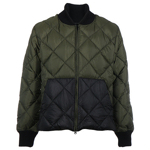 {ie X CRESCENT DOWN WORKS DOWN BOMBER JACKET / OLIVE - 1
