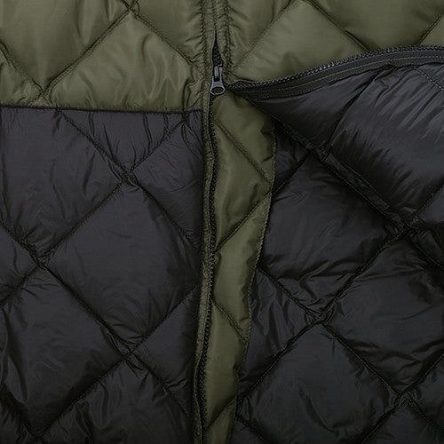 {ie X CRESCENT DOWN WORKS DOWN BOMBER JACKET / OLIVE - 3