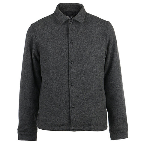 {ie PRIMALOFT COACH'S JACKET / CHARCOAL WOOL - 1