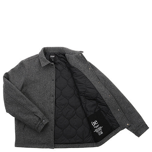 {ie PRIMALOFT COACH'S JACKET / CHARCOAL WOOL - 6